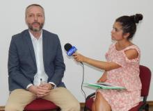 Alexandar Olenik: avocat în politică